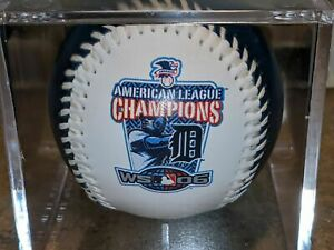 2006 DETROIT TIGERS American League Champions Souvenir Baseball MLB ALCS Champs
