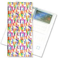Business Card Book File Rainbow Alphabet 3D Lenticular Multicolor #R-126-BF128#