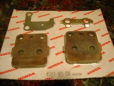 Honda ATC200X ATC250R Disc Brake Pad Set OEM 45011-965-006 New Off Road Dirt MX