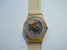 SWATCH WATCH 1986 Vintage Women's  JELLY FISH Plastic Quartz Sport Analog watch