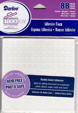 3D FOAM DOTS Double Sided CIRCLES - 2 Sizes - 88pc! Photo Safe Acid Free