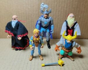 Vintage Lot Of 1983 Dungeons And Dragons Action Figures (JN)