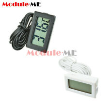 For Aquarium Fish Tank Marine Water Meter Thermometer TPM-10 LCD Temperature 2M