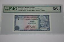 (PL) NEW: RM 1 Q/9 769251 PMG 66 EPQ 4TH SERIES AZIZ TAHA GEM UNC