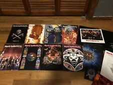 Iron Maiden Fan Club Fc Magazine Lot Eddie With Extras Magazines Books