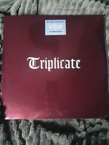 Bob Dylan Triplicate 3 X Vinyl New and Sealed Albums  180g With Digital Download