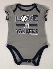 New York Yankees Baby Infant 3/6 Months MLB Gray