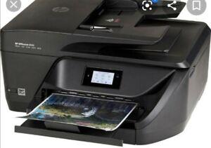 HP OfficeJet 6950 All-in-One Inkjet Printer No Ink