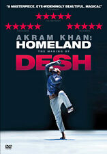 AKRAM KAHN - HOMELAND - THE MAKING OF DESH - DVD - REGION 2 UK