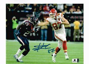 Travis Kelce hand signed autographed 8x10 photo w/COA Kansas City Chiefs TE