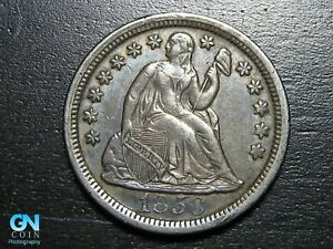 1850 P Seated Dime --  MAKE US AN OFFER!  #B2217