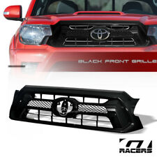 FOR 2012-2015 TOYOTA TACOMA BLK OE STYLE MESH FRONT HOOD BUMPER GRILL GRILLE ABS