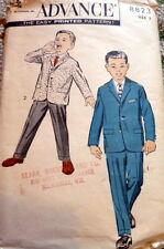 LOVELY VTG 1950s BOYS SUIT ADVANCE Sewing Pattern 3