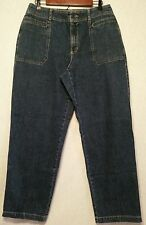 """Womens Liz Claiborne """"Michaela""""Jeans Sz14 32x31*GREAT SHAPE* List#575j"""