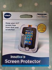 Vtech Innotab 3 Screen Protector x 2 & Cleaning Cloth Brand New In Pack!