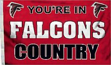 Atlanta Falcons Huge 3'x5' Nfl Licensed Country Flag / Banner - Free Shipping