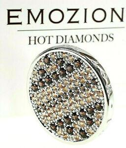 Emozioni Hot Diamonds Earthy Brown & Champagne Serpente Stone 25mm Coin £59.95.