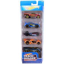 Sistema De Diseñador De Pista Hot Wheels VEHÍCULO DE DIECAST ESCALA 1:64 coches 5-Pack (DJD18)