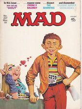 MAD Magazine #227 UK Edition 1981
