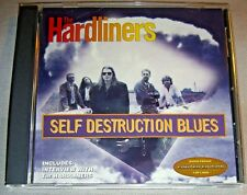 THE HARDLINERS Self Destruction Blues CD promo-only EP non-album tracks NM/EX+