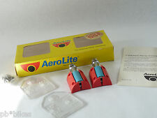 AeroLite Pedals Clipless Turcite SSE Vintage Road Bicycle USA Lightweight NOS