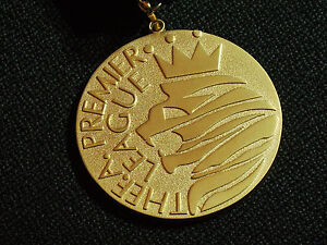 MANCHESTER UNITED 2006-07 PREMIER LEAGUE CHAMPIONS MEDAL C/W RIBBON