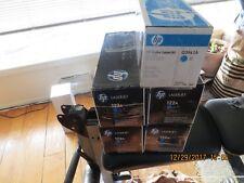 HP Q3961A Cyan Toner Cartridge 122A Genuine New Sealed Box  -  ON SALE 33% OFF