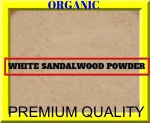PREMIUM QUALITY - 100 % Natural White Sandalwood Safed Chandan Lakdi Powder