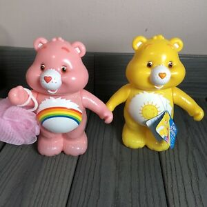 RARE Care Bears Bubble Bath Set // SEALED Bubble Bath with Mesh Sponge