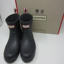 Hunter Original Play Boot Short Luna gray women's wedge sole rain waterproof 7-9