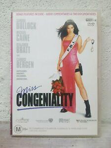 Miss Congeniality DVD Comedy Sandra Bullock, Michael Caine Region