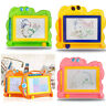 WR_ Kids Drawing Board Magnetic Writing Sketch Pad Erasable Magna Doodle Toy New