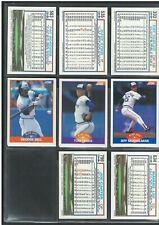 1989 SCORE TORONTO BLUE JAYS GEORGE BELL CARD + 2 CARD LOT NR-MINT/MINT