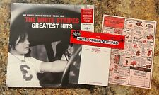 BUNDLE! The White Stripes Greatest Hits 2LP NEW Sealed w/ 2 Rare Collectibles