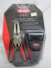 """BERKLEY TEC 6"""" POWER PLIERS HEAVY DUTY SPRING LOADED #TP6 1131044"""