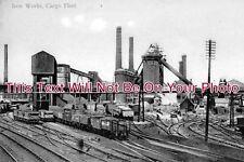 YO 546 - Iron Works, Cargo Fleet, Middlesbrough, Yorkshire c1909 - 6x4 Photo