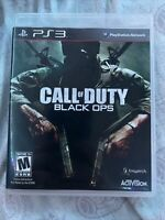 Call of Duty: Black Ops (Sony PlayStation 3, 2010) PS3 GAME COMPLETE ~TESTED~
