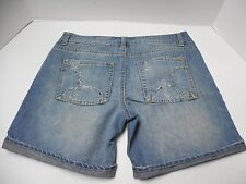 Womens Size 7 Hurley Distressed Denim Blue Jean Shorts