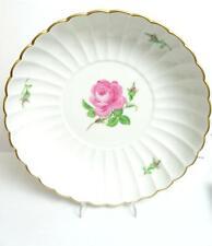 Schöne grosse Schale von Meissen ,  Dekor:  Rosa Rose   A2563