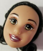 DISNEY FASHION DOLL HEAD ONLY FOR REPLACEMENT OR OOAK SNOW WHITE MATTEL