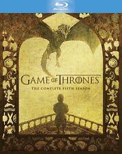 Game of Thrones - Season 5 Blu-ray DVD Region Free Complete Fifth Season Box Set
