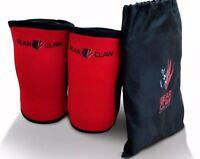 BCF 7mm Knee Sleeves Weightlifting KneeCaps CrossFit PowerLifting Squat Support