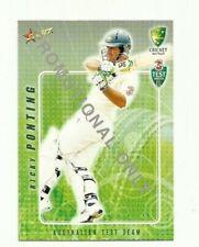 2008 SELECT CRICKET AUSTRALIA RICKY PONTING #16 PROMO CARD FREE POST