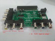 PC Engine Genesis SNES NEO GEO Component/AV Booster/RGB TurboGrafx 16 Composite