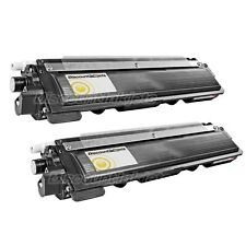 2PK Yellow Toner Cartridge for Brother TN-210 TN 210 MFC-9320CN MFC-9125CN
