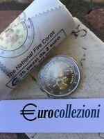 ITALIA 2020 2 EURO VIGILI DEL FUOCO FDC UNC DA ROTOLINO SPECIALE ITALY ITALIEN