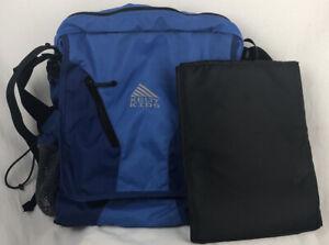 Kelty Kids Diaper Bag Messenger Bag Backpack Hiking Blue Multiple Pockets