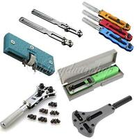 Deluxe Wrist Watch Jewelry Screw Back Case Opener Sticky Ball Wrench Repair Tool