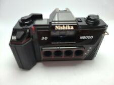 Nishika N8000 35mm 3-D Quadrascopic Lenticular Camera NOT WORKING