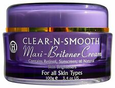Clear-N-Smooth Maxi-Britener Cream, MAXIMUM STRENGTH FORMULA, SKIN BRIGHTENING